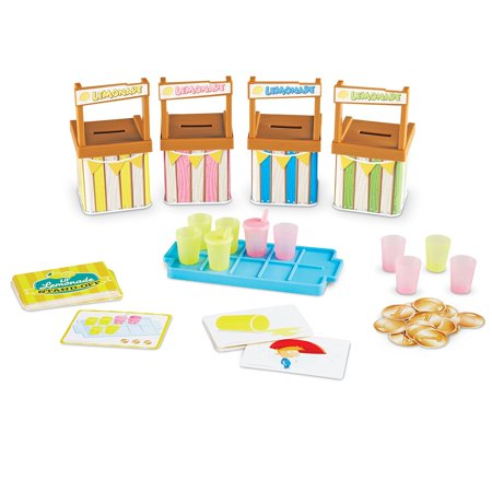 Learning Memory Box (Learning Resources Lil\' Lemonade Stand-Off A Memory Matching Game)
