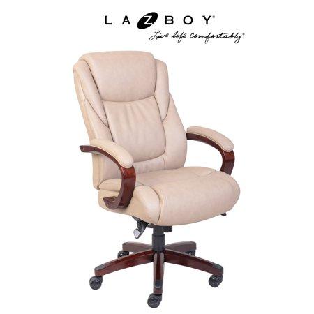 La Z Boy Miramar Executive Office Chair   Taupe
