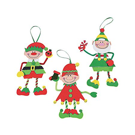 Make-An-Elf Christmas Craft Kit ()
