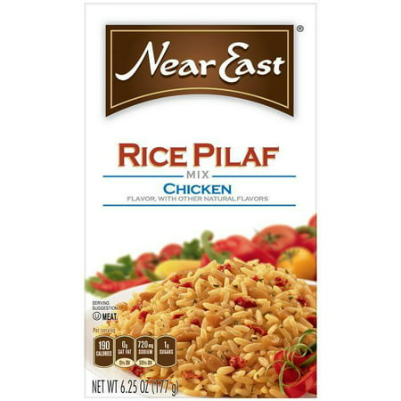 Near East Chicken Rice Pilaf Mix 6.25 Oz (Pack of 12)