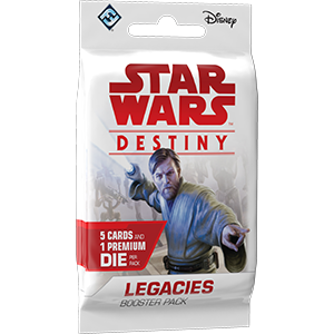Star Wars: Legacies Booster Display