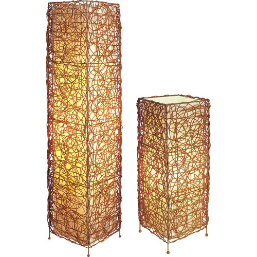 Sintechno 2 Piece Table and Floor Lamp Set