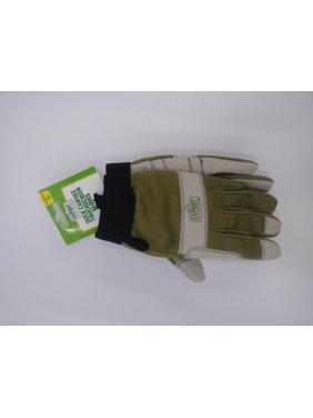 Expert Gardener Women's Large Duck Canvas Touchscreen Gloves