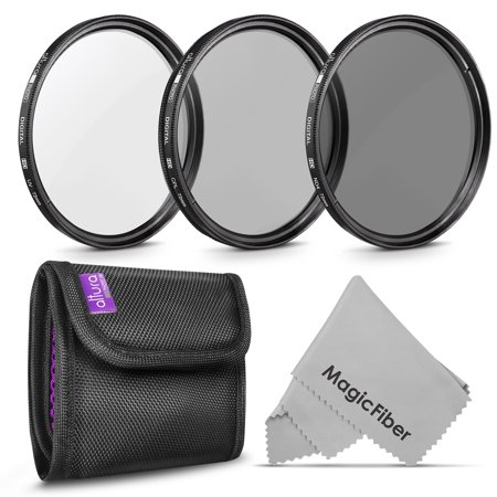 72MM Altura Photo Professional Photography Filter Kit (UV, CPL Polarizer, Neutral Density ND4) for Camera Lens with 72MM Filter Thread + Filter