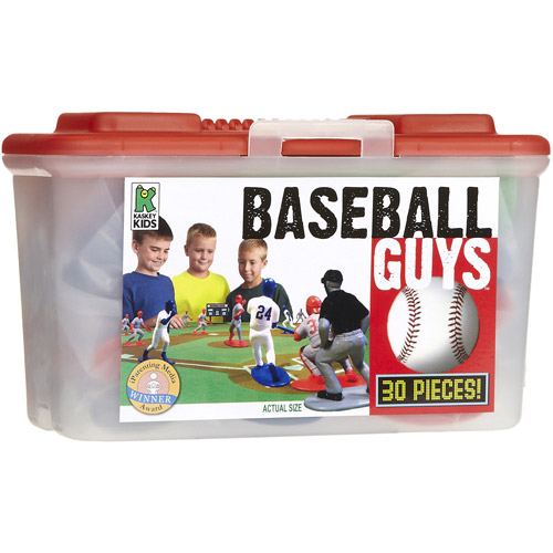 Kaskey Kids Baseball Guys Action Figure Set