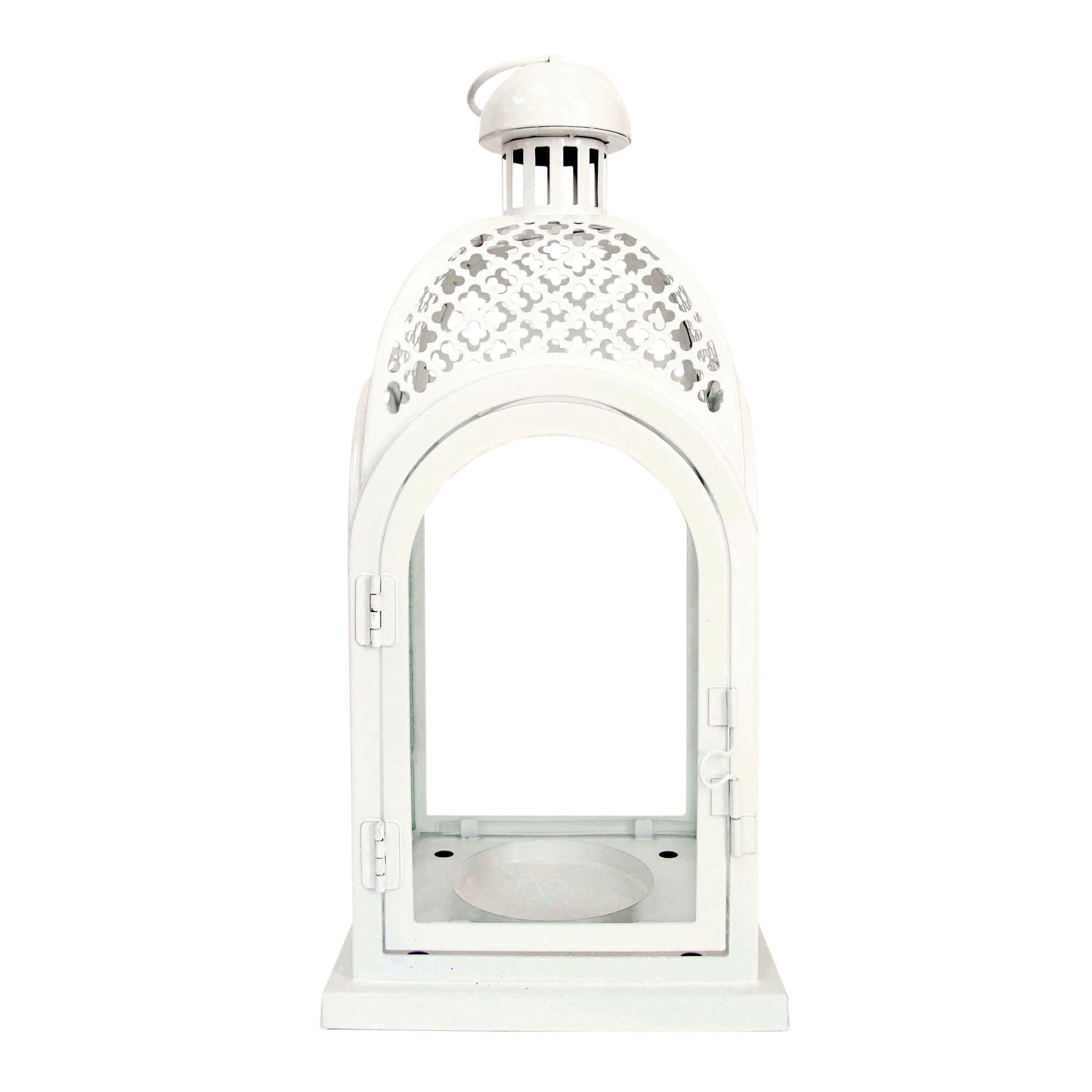 Click here to buy Better Homes & Gardens White Lantern by IMPORT-ZHONG NAM INDUSTRIAL (INTERNATIONAL) CO LTD.