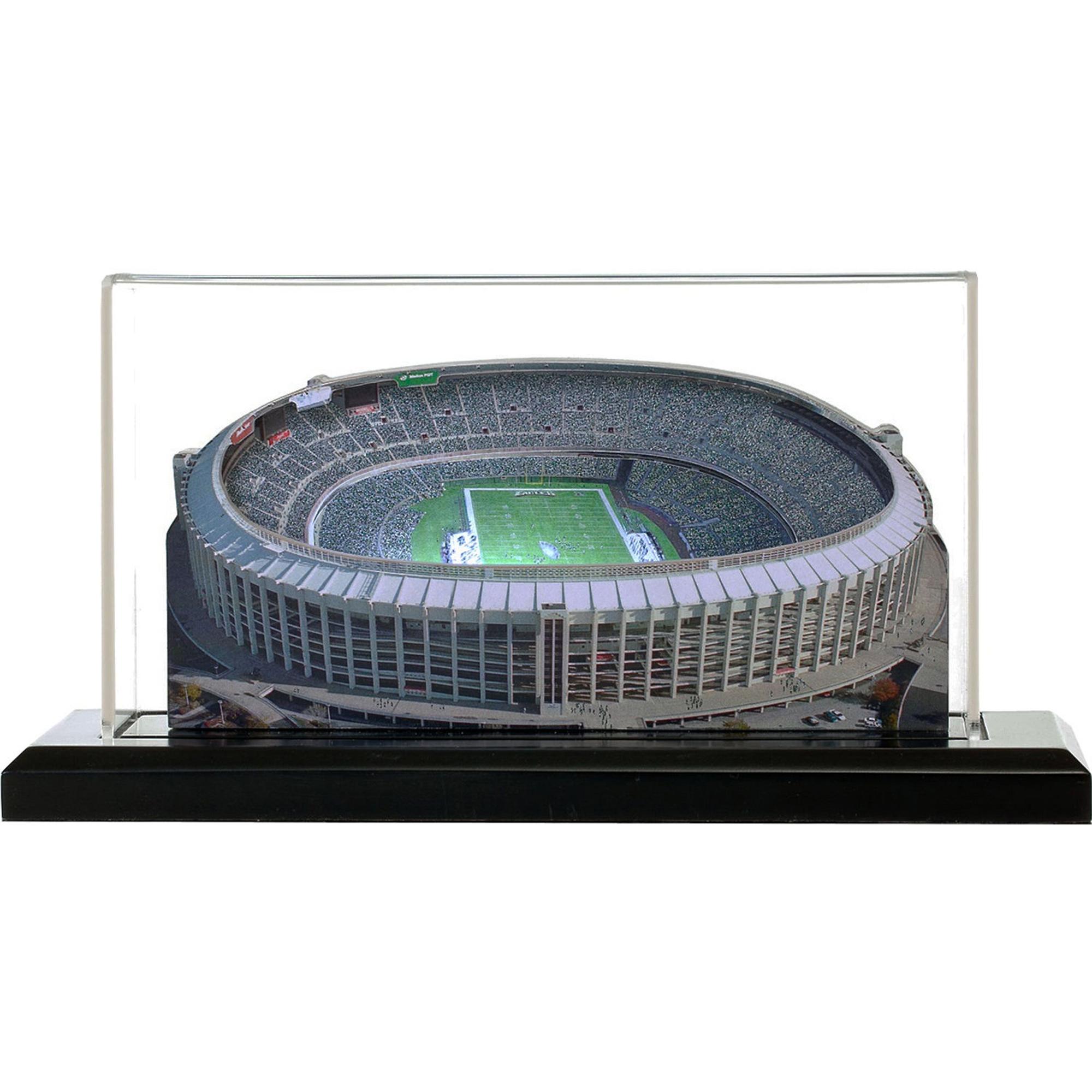 """Philadelphia Eagles Veterans Stadium 13"""" Replica Stadium with Case - No Size"""