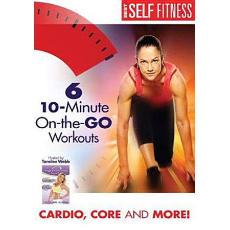 SIX 10 MINUTE-ON THE GO- WORKOUTS (DVD) (DVD)