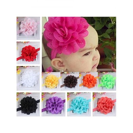 Directer Baby Girls Kids Fashion Hollow Lace Flower Headband Headwear Hair Band Accessory