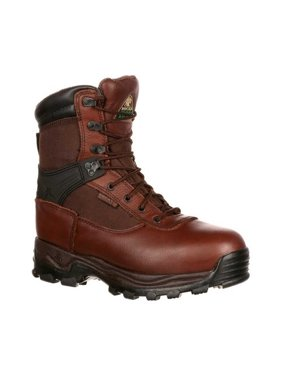 Rocky Mens Sport Utility Pro Steel Toe Waterproof Brown Work Boots FQ0006486