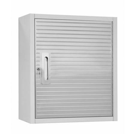 UltraHD Steel Wall Cabinet w/ Key Lock & Mounting Bar by Seville Classics ()