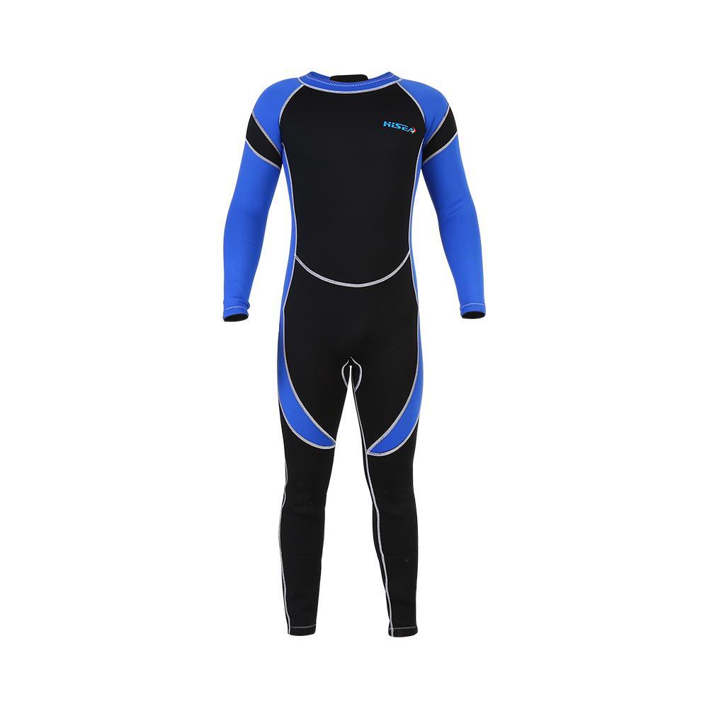 Kids Neoprene Scuba One-piece Diving Snorkeling Wet Suit Long Sleeve Surfing Swimwear, Children Swimwear, Long Sleeve... by