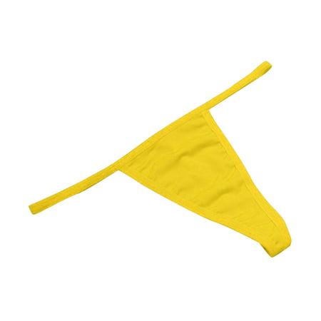 c18f2df8cfa BONRICH - 2PCS Women Sexy Low Waist Solid Color G-String Thongs Seamless  Underwear Panties Briefs - Walmart.com