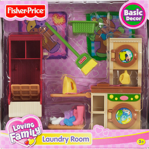 Loving Family Laundry Room. fisher price loving family dollhouse furniture   Roselawnlutheran