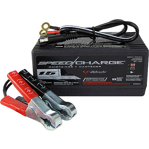 Schumacher Automotive SpeedCharge Battery Maintainer and Charger