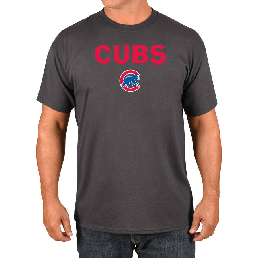 MLB Chicago Cubs Big Men's Basic Tee