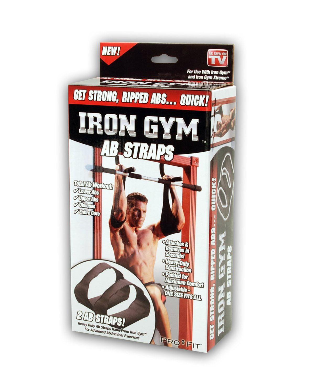Iron Gym Ab Straps by