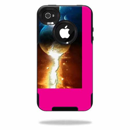Mightyskins Protective Vinyl Skin Decal Cover For Otterbox Commuter Iphone 4 Case Cell Phone Wrap Sticker Skins Sci Fi