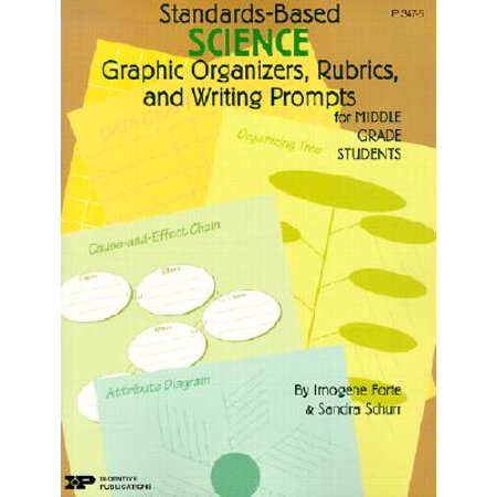 Standards-Based Science: Graphic Organizers, Rubrics, and Writing Prompts for Middle Grade (Types Of Graphic Organizers And Their Uses)