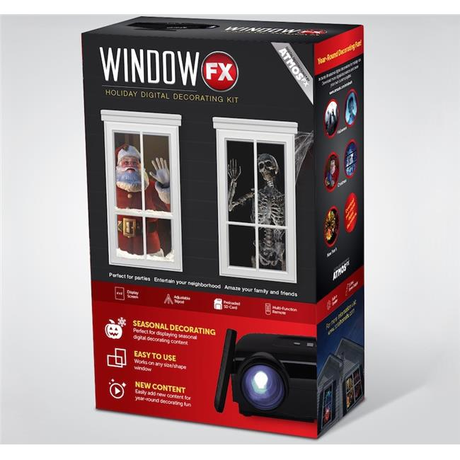 Northlight Seasonal 31743066 Window FX Christmas And Halloween Digital Seasonal Projector With Remote