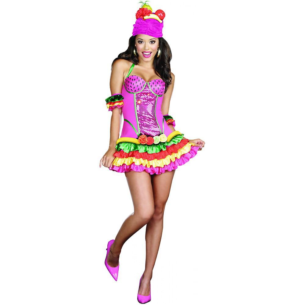 Dreamgirl Sexy Juana Banana Caribbean Dress Costume Adult
