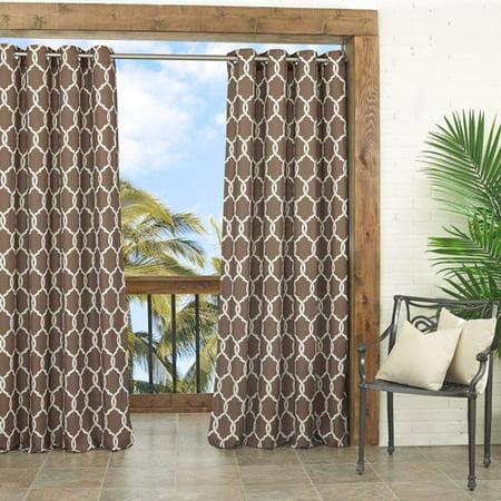 Parasol Totten Key Trellis Indoor/Outdoor Curtain Panel