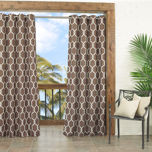 Parasol Totten Key Trellis Indoor/Outdoor Curtain Panel