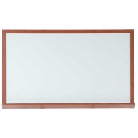 Aarco 420OD3648 37 x 49 x 2 Inch  Markerboard with Oak Wood-Look Frame