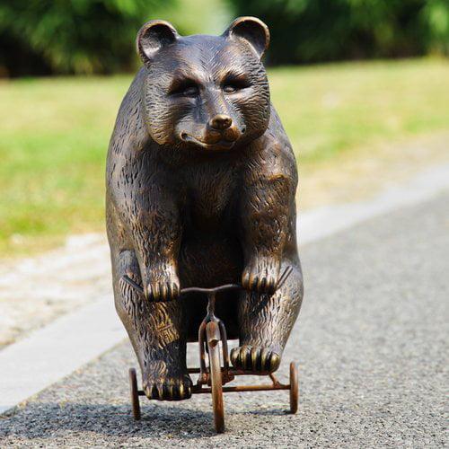 San Pacific International Big Bear Little Trike Garden Statue