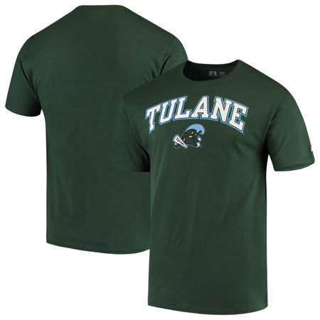 Men's Russell Green Tulane Green Wave Core Print T-Shirt
