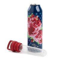 The Pioneer Woman Frontier Rose Immerse Infuser Water Bottle, 18oz