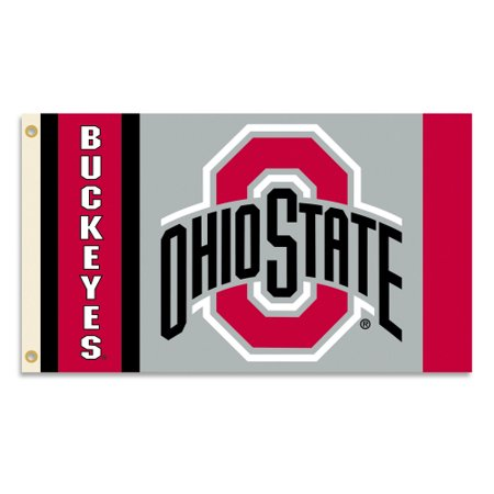 Bsi Products Inc Ohio State Buckeyes Flag With Grommets Flag With Grommets