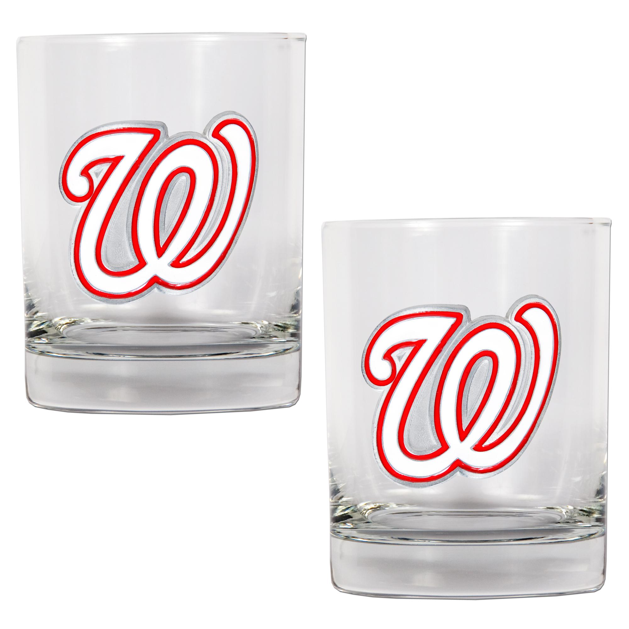 Washington Nationals 14oz. Rocks Glass Set - No Size