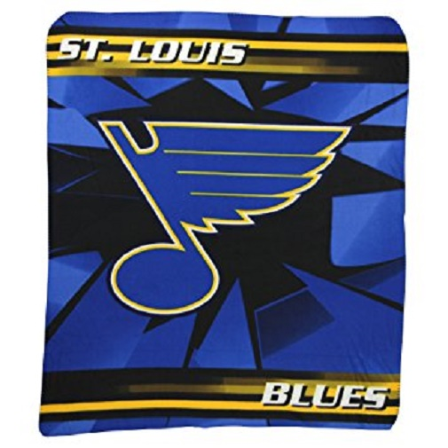St. Louis Blues NHL Northwest Fleece Throw