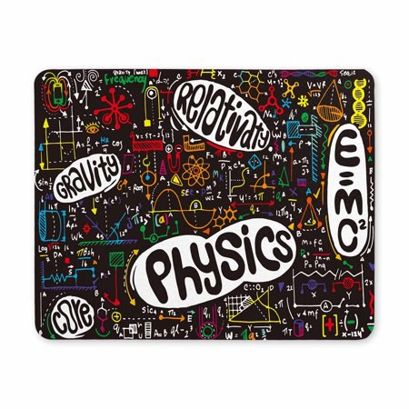 POP Physical Formulas and Phenomenon Science Board with Math Physics Education at School Printed Mousepad Non Slip Rubber Gaming Mouse Pad 9x10 inch - image 2 of 2