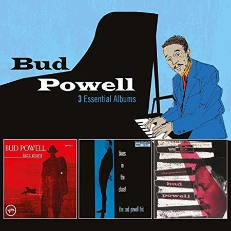 3 Essential Albums (CD) (Best Bud Powell Albums)