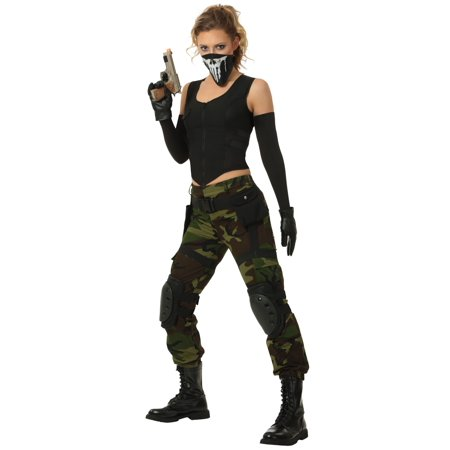 Soldier Woman Costume (Fighting Soldier Plus Size Costume for)