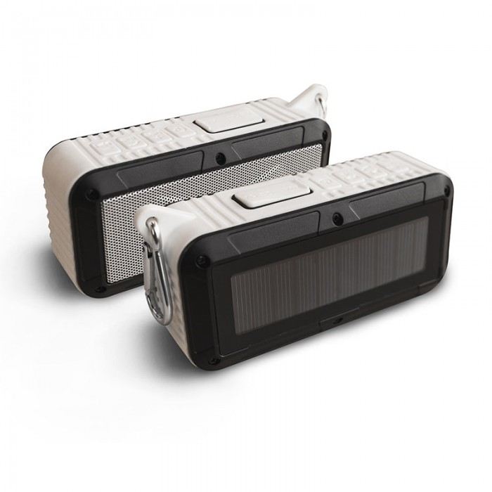 RAYJAM Solar Radio White by Touch Of ECO