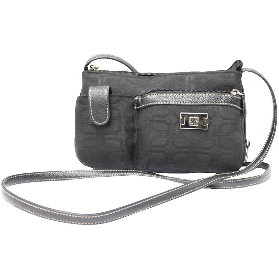 George Women's Jacquard Mini Crossbody With Cell Phone Pocket