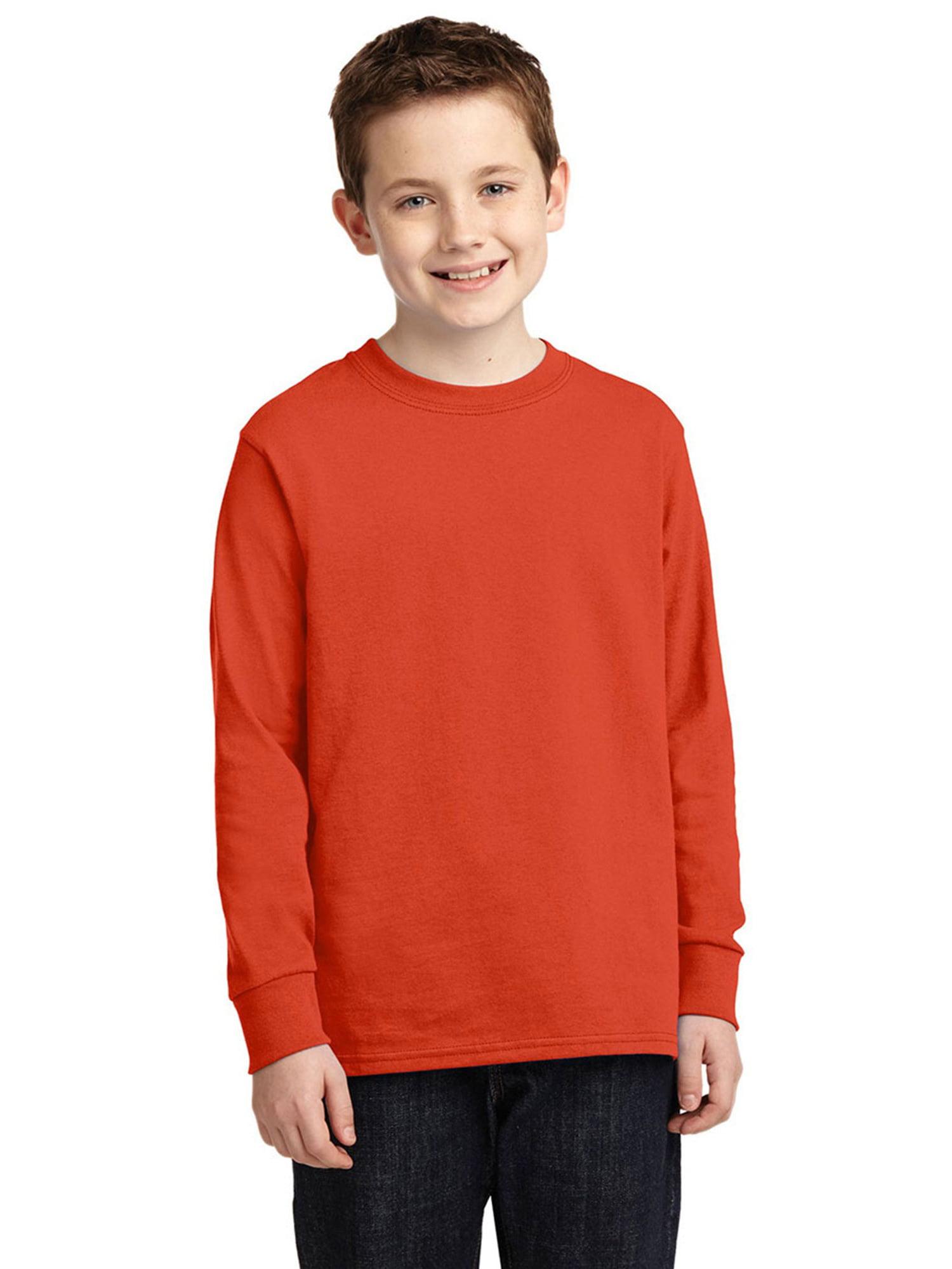 Port & Company Boy'sIndispensable Classic Friendly T Shirt