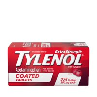 Tylenol Extra Strength Coated Tablets with Acetaminophen 500mg, 225 ct