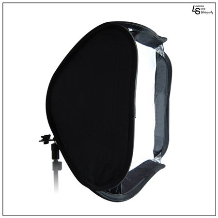 Cheap Offer 24″ x 24″ Portable Softbox for Speedlite Flash with Metal Hot Shoe Mount Ring for Photography Lighting by Loadstone Studio. WMLS0472 Before Special Offer Ends