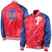 Philadelphia Phillies Starter The Lead Off Hitter Full-Snap Jacket - Red/Royal