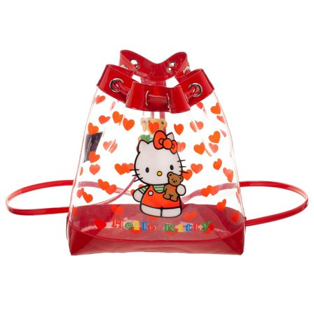 Sanrio Hello Kitty Vinyl Bucket Mini Backpack