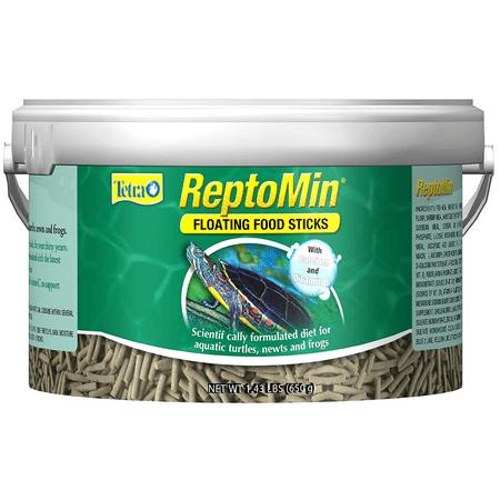 Tetra ReptoMin Floating Turtle Food Sticks Tub, -