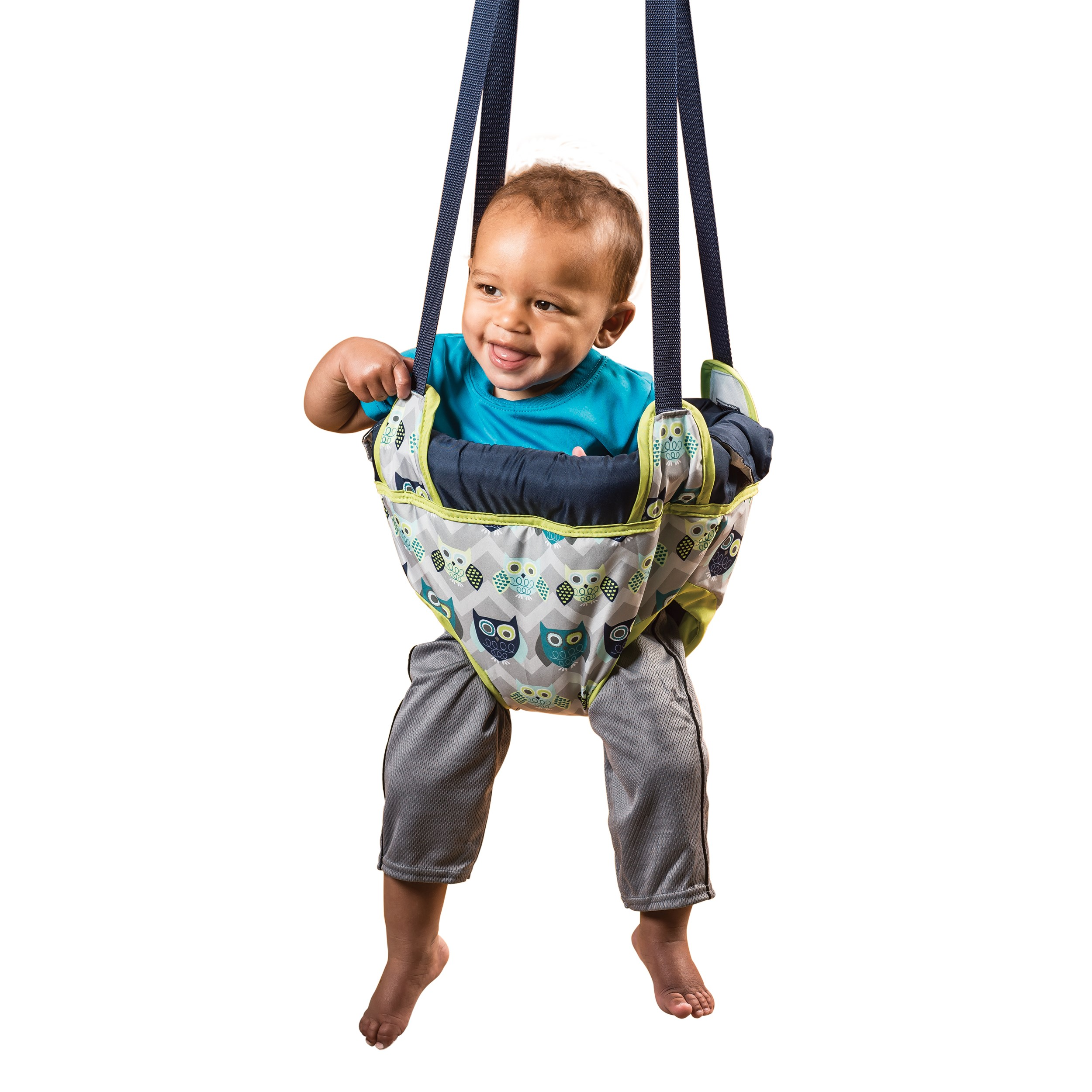 Evenflo ExerSaucer Doorway Jumper, Owl