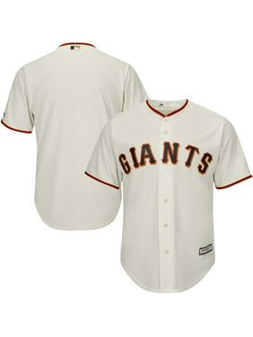 San Francisco Giants Majestic Big & Tall Cool Base Team Jersey - Cream