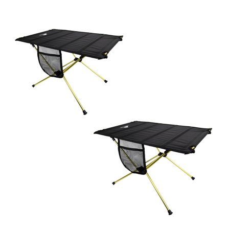 Ozark Trail Sutton Bluff Camp Lite Table 2 Pack Walmart Com