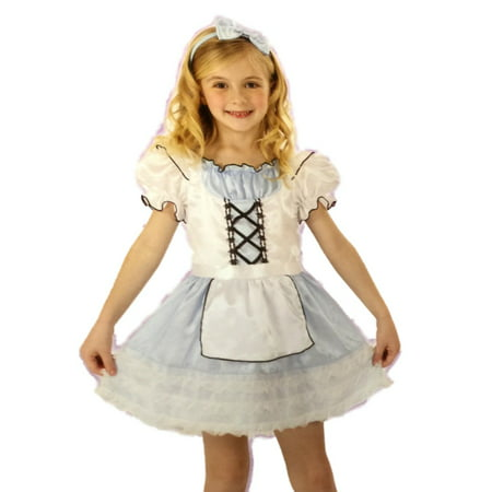 Totally Ghoul Girl Storybook Beauty Halloween Costume Princess Dress Up Outfit for $<!---->