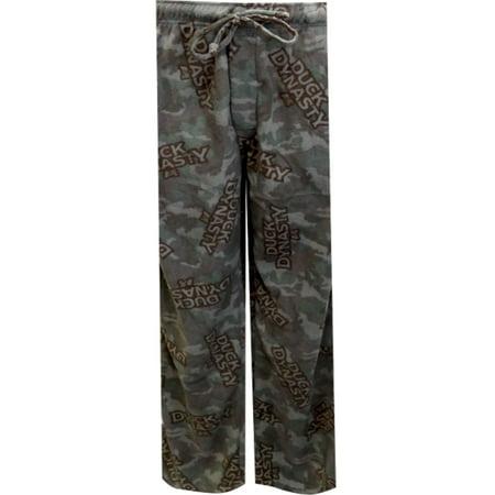 - Duck Dynasty Camo Muted Colors Fleece Lounge Pants